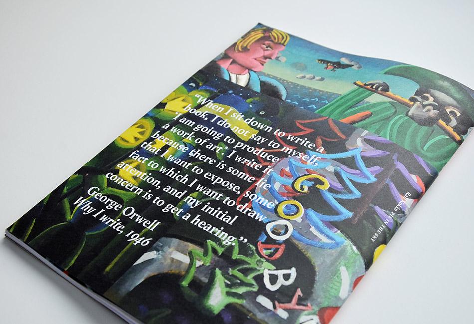 Pie in the Sky / concept en ontwerp boek / 2020 / Ralf Kokke